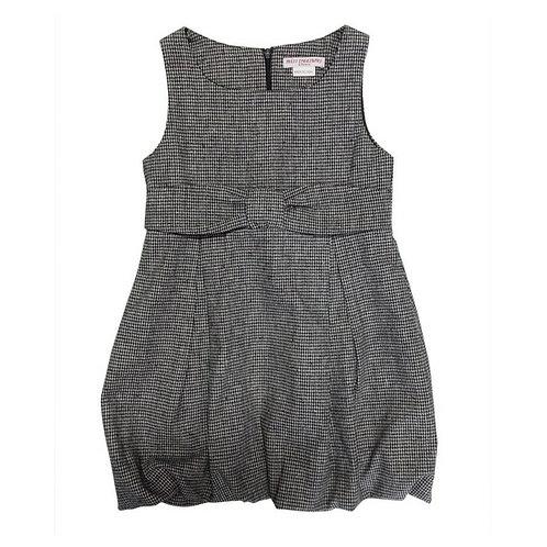 Aria balloon dress-Grey