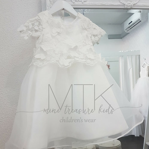 Custom made Mila Girl Dress - Birthday Wedding, Flower Girl, Christening