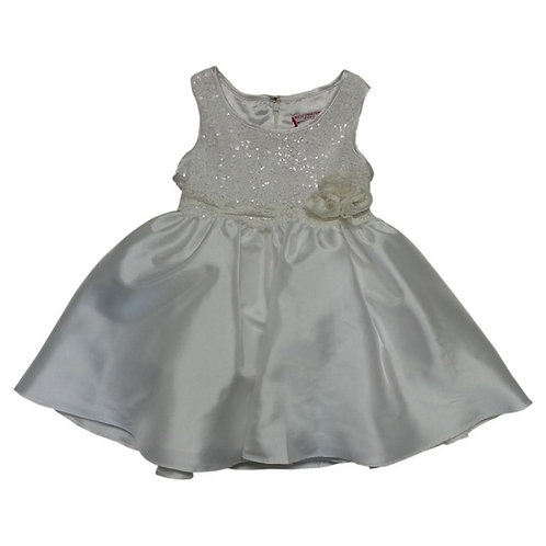 Ivy party dress-White