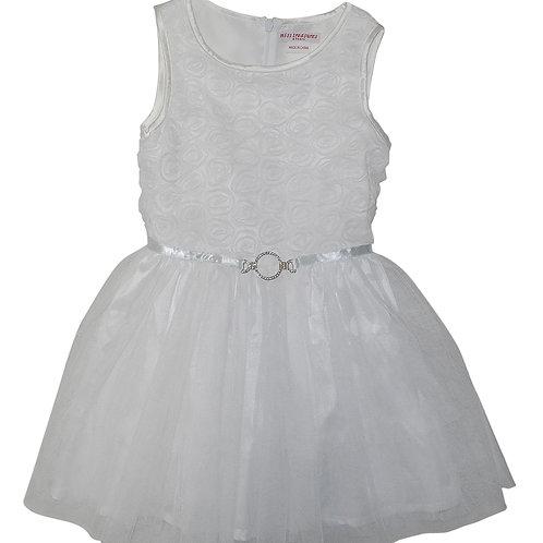 Grace Tulle dress- white