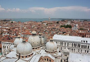 Venezia, panoramica dal Campanile di San Marco hoteladriasuggests