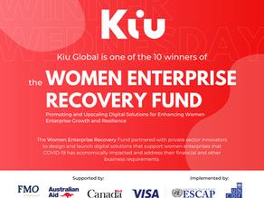 UNCDF Women Enterprise Recovery Fund Top 10 Winners.