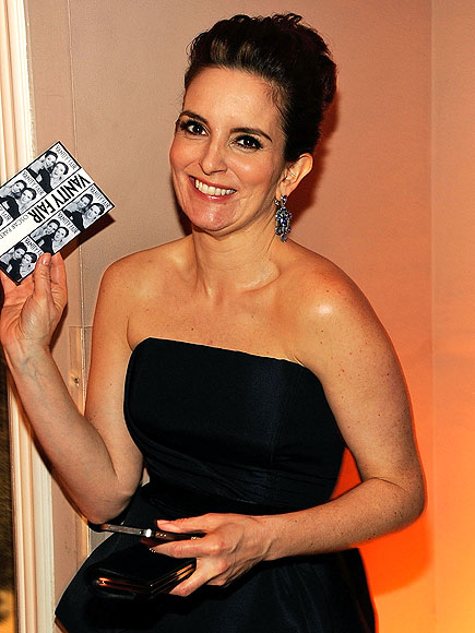Tina Fey proudly shows off her photo booth