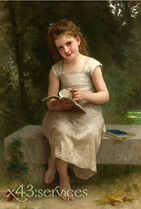 William-Bouguereau-Das-Lesende-Maedchen.