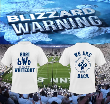 """""""Unofficial"""" 409 BWO Whiteout Shirt - Short Sleeve"""