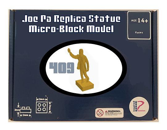 JoePa Replica Statue Micro-Block Model Kit