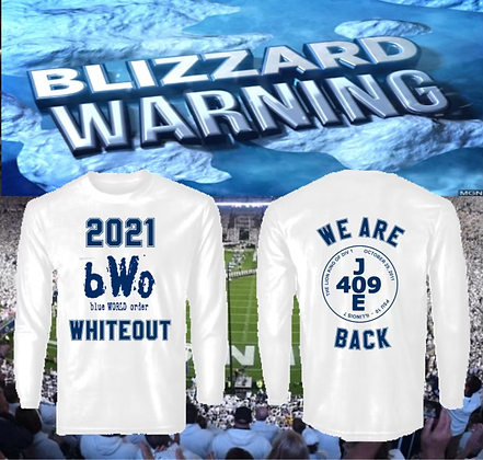 """""""Unofficial"""" 409 BWO Whiteout Shirt - Long Sleeve"""