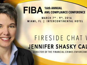 Jennifer Shasky Calvery Head of FinCen will not tell the truth?  Ask her about Egor Chernov.  She ca