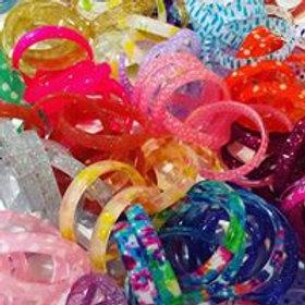 Kids' Acrylic Bracelets