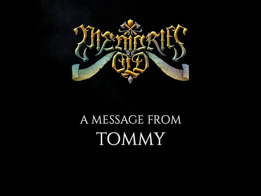 🔥⚔ A MESSAGE FROM TOMMY ⚔🔥