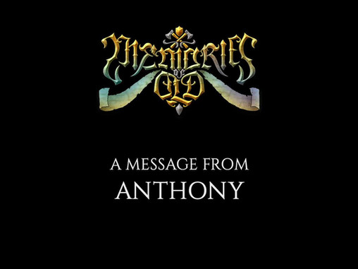 🔥⚔ A MESSAGE FROM ANTHONY ⚔🔥