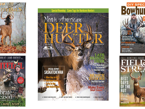 Best Deer Hunting Magazines for 2018