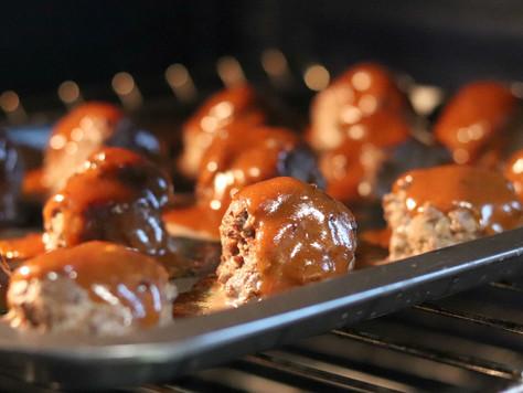 Sticky Venison Meatballs