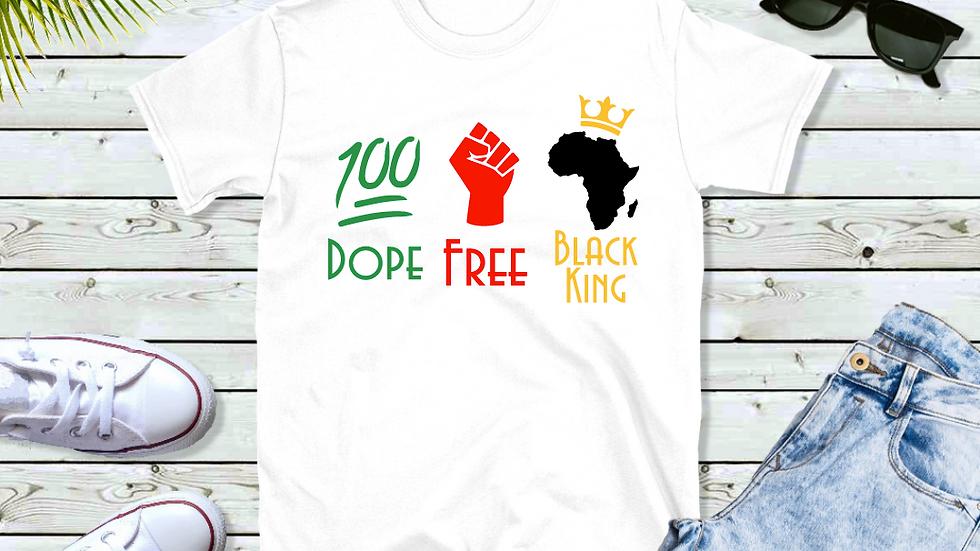 Dope Free Black King