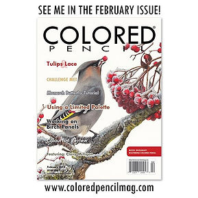 Thank you _coloredpencilmagazine for inv