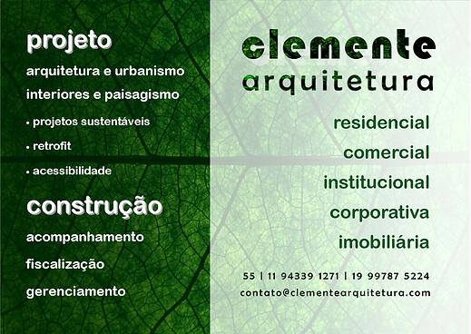 Atividades - Clemente Arquitetura