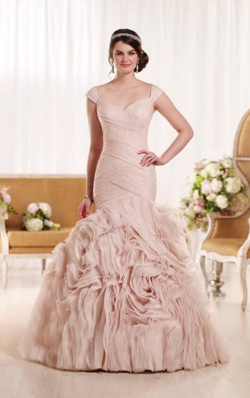 Bold Plus Size Wedding Dress