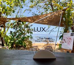Award winning beach spa