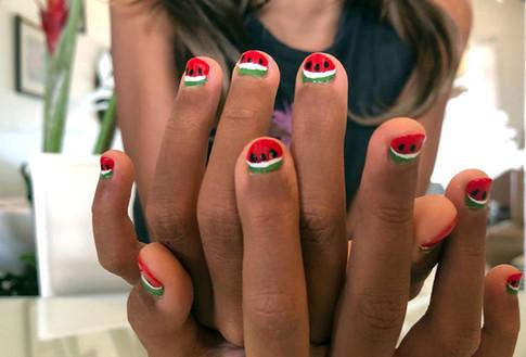 Kiddie Manicure - Water Melons