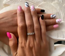Flamingo Nail Art