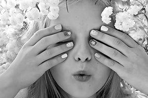 childrens manicure & pedicure