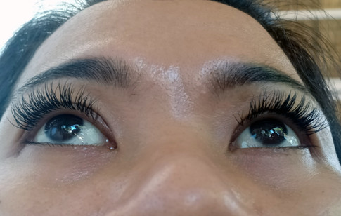 Full Natural Eyelash Extensions