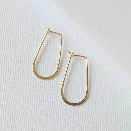 Slender Teardrop Earrings