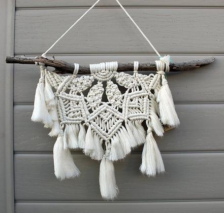 Forget Me Knots Bohemian Mandala Macrame Wall Hanging