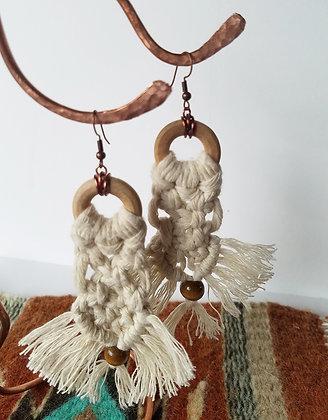 Forget Me Knots Waterfall Earrings