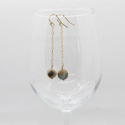 Emily Dangle Bead Earrings