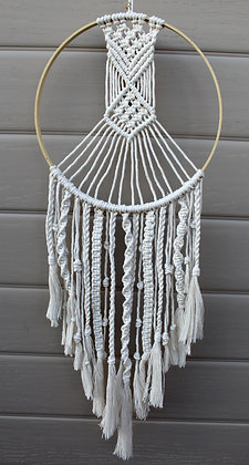 Forget Me Knots Braided Dream Catcher