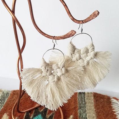 Forget Me Knots Flutter Fan Earrings
