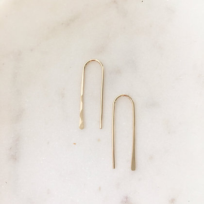 Hairpin Earrings