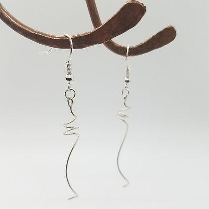 Dangle Twist Earrings