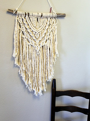 Forget Me Knots Bohemian Spirit Macrame Wall Hanging-Medium
