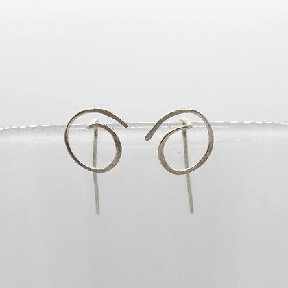 Swirl Threader Earrings