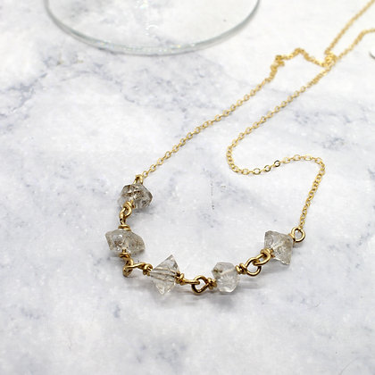 5 Herkimer Necklace