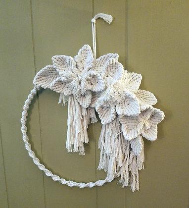 Forget Me Knots Macrame Wreath