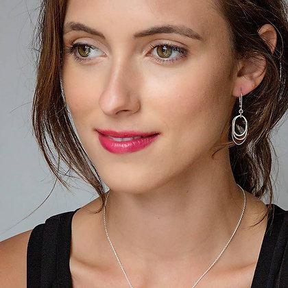 Mixed Flame Earrings