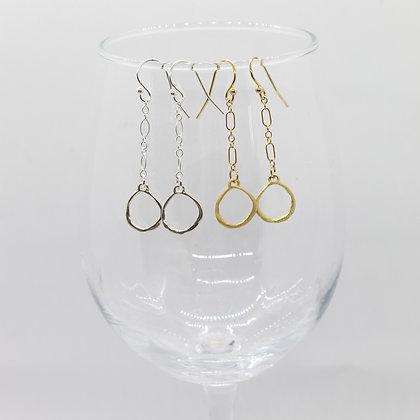 Mia Chain Hoop Earrings