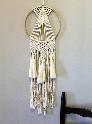 Forget Me Knots Triple Tassel Dream Catcher