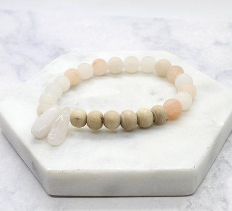 Divine Feminine Healing Stacking Bracelet