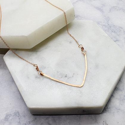 Deep V Necklace