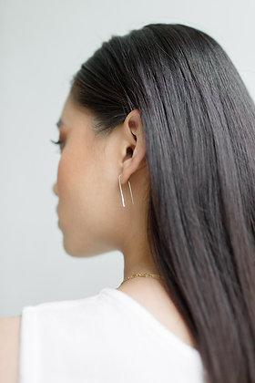 Hairpin Earrings