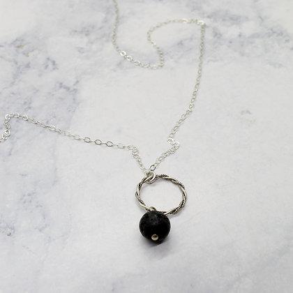 Essential Oil Diffuser Lave Bead Necklace