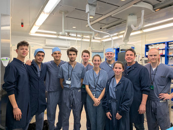 Puzzle Medical Devices successfully completes 6 acute live in vivo pre-clinical studies at AccelLab