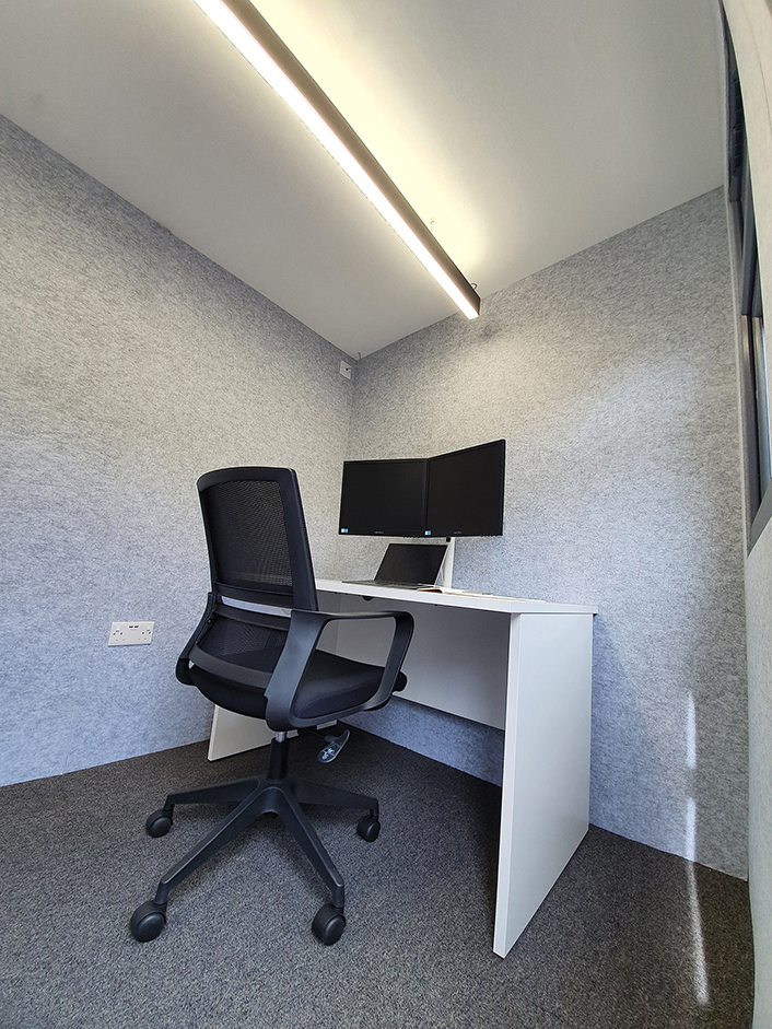 Home Office Pod Interior