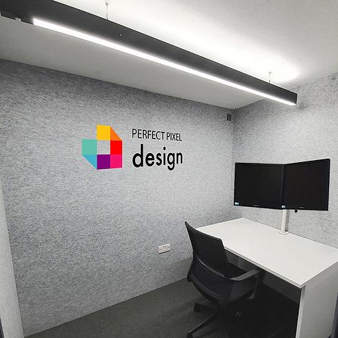 HOP pixel logo corporate branding option