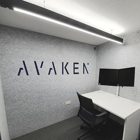 Home office pod corporate branding avark