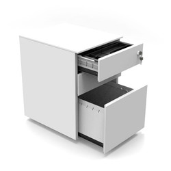 Home-Office-Pod-steel-pedistal-desk-draw